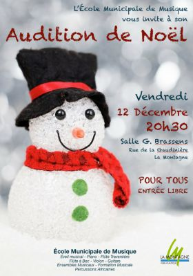 Audition de Noël 2014