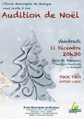 Audition de Noël 2015