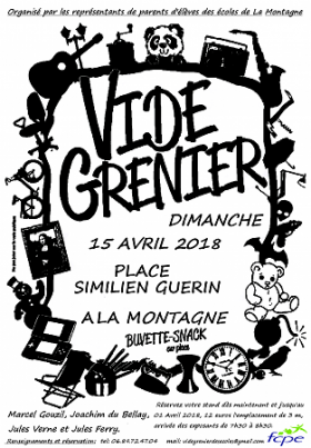 Vide greniers - Parents d'élèves
