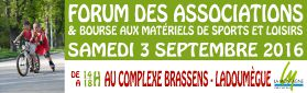 Forum des Associations - 3 septembre 2016