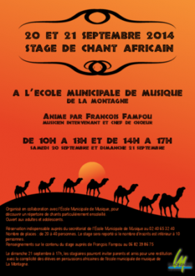 Stage de chant africain