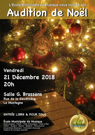 Audition de Noël 2018