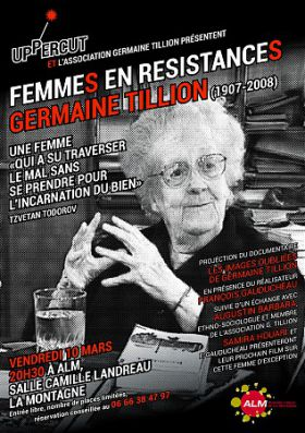 Projection du film documentaire « Les images oubliées de Germaine Tillion » - ALM UPPERCUT