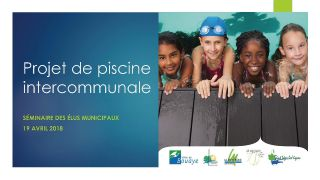Projet de piscine intercommunale