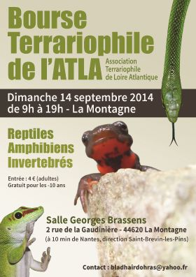 Exposition d'animaux exotiques