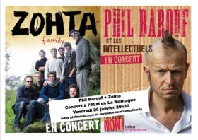ZOHTA FAMILY & PHIL BAROUF LES INTELLECTUELS