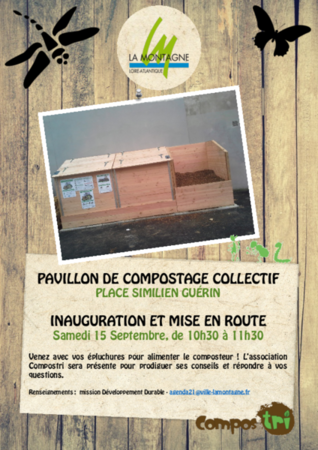 Inauguration Composteur Place Similien Guérin 2018